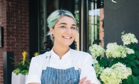 Alexandra Motz, one of the chefs being mentored by Gavin Kaysen through the Ment'or BKB Foundation.