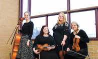 Ta-Ta Quartet, all women quartet, all female quartet, St. Louis Park High School, Roseville String Ensemble, Miriam Zien Edgar