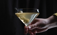 A martini made with Gray Duck Vodka
