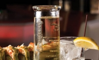 With its elegant origins, the St. Germain cocktail at Raku Sushi & Lounge evokes thoughts of St. Tropez.