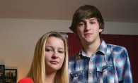 Siblings Austin and Karlee Bosley found comfort in the Growing Through Grief group after their father's death.