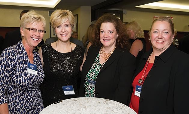 Lee Valsik, Cathy Wurzer, Molly Steinke and J. Marie Fieger