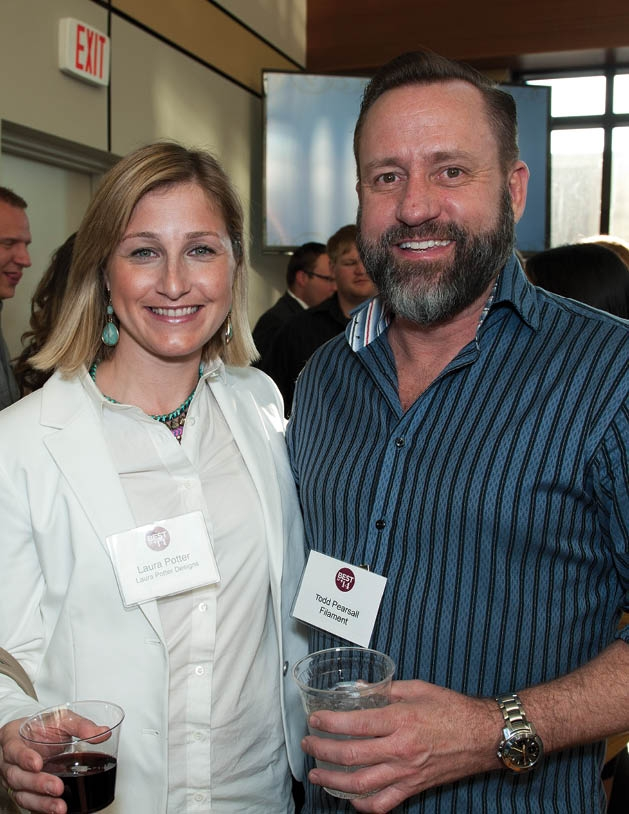 Laura Potter and Todd Pearsall