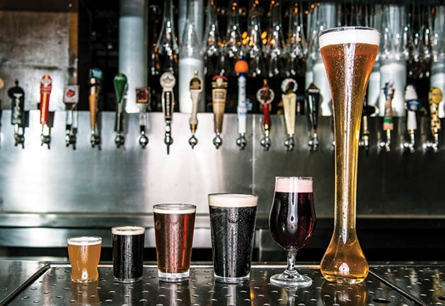 Yard Houseu0027s New St. Louis Park Location Features A Fleet Of Beer Options.