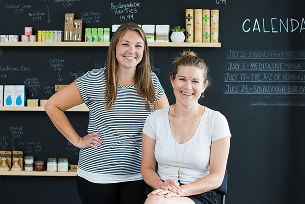Tare Market co-founders Amber Haukedahl and Kate Marnach