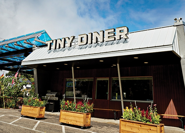 Tiny Diner, a Kim Bartmann restaurant in South Minneapolis.