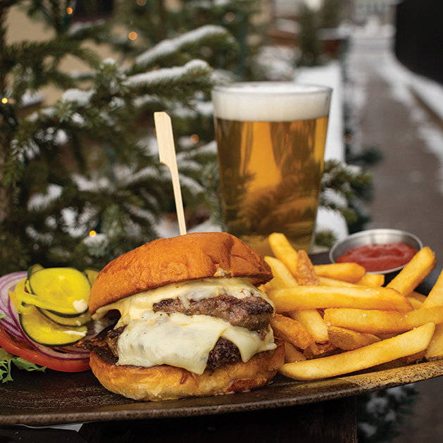 Lake & Irving's cheeseburger, our editor's pick for the best burger in south Minneapolis