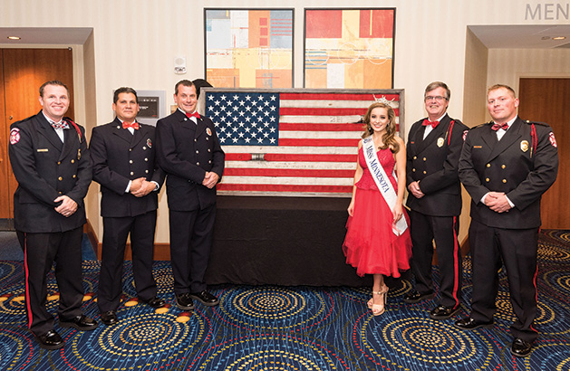 St. Paul Honor Guard with Miss Minnesota Michaelene Karlen