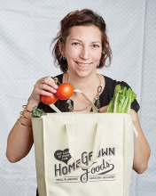 Aleks Till of Homegrown Foods meal kit service